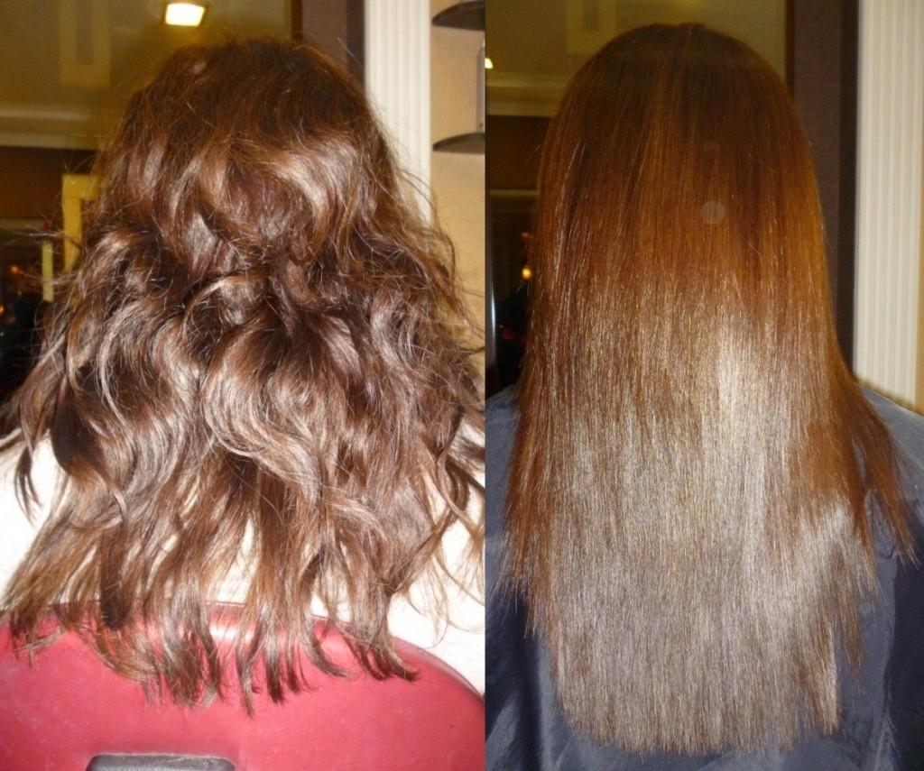 Утолщает ли волос кератиновое выпрямление